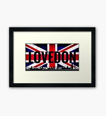 London- Love conquers all Framed Print