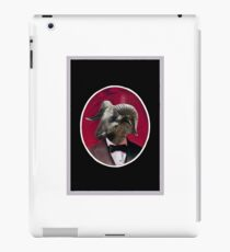 Goat in Tux iPad Case/Skin