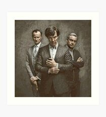 The Government, The Soldier and the Consulting Detective Art Print