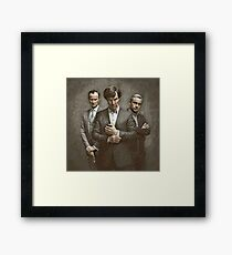 The Government, The Soldier and the Consulting Detective Framed Print