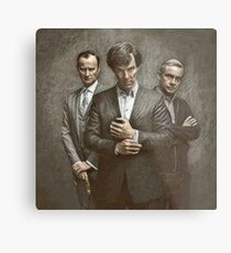 The Government, The Soldier and the Consulting Detective Metal Print