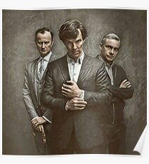 The Government, The Soldier and the Consulting Detective Poster
