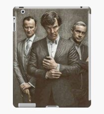 The Government, The Soldier and the Consulting Detective iPad Case/Skin