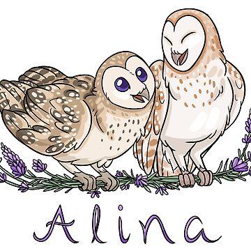Alina's Owls by lightningmoth