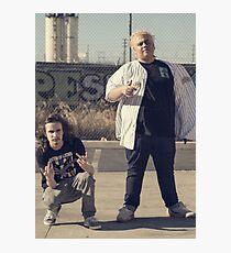 Pouya and Fat Nick Photographic Print
