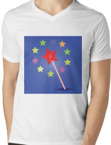 magic wand Mens V-Neck T-Shirt