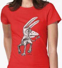 Donkey Bird Womens Fitted T-Shirt