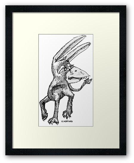 Donkey Bird by Hoffard