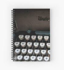 Qwerty Keyboard Spiral Notebook