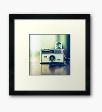 Instamatic Framed Print