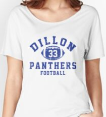 Dillon 33 Panthers Football Women's Relaxed Fit T-Shirt