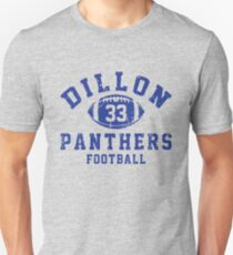Dillon 33 Panthers Football Unisex T-Shirt