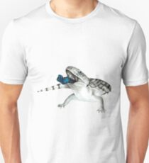 Cosmic Blue Tongued Lizard Unisex T-Shirt