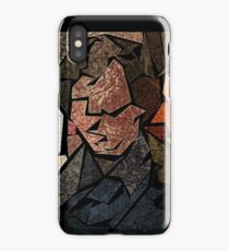 Stained Glass Consulting Detective iPhone Case/Skin