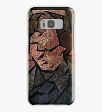 Stained Glass Consulting Detective Samsung Galaxy Case/Skin