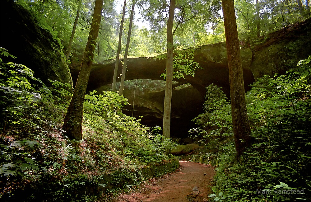Natural Bridge of Alabama by Mark Ramstead