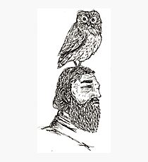 Wise Old Owl Photographic Print