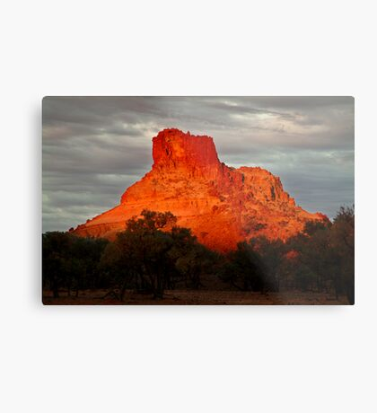 Goyder's Pillar, North Simpson Desert Metal Print