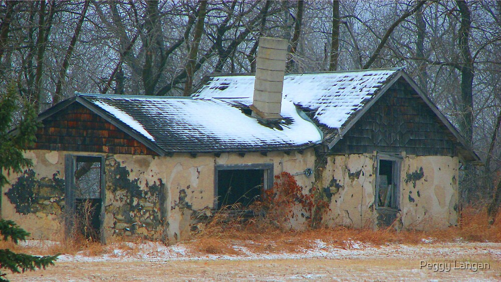 old home by Peggy Langan