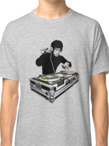 Bruce Lee - Gold Decks Scratch Classic T-Shirt