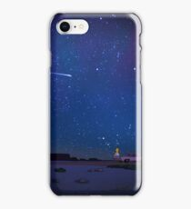 Homer watches the stars iPhone Case/Skin