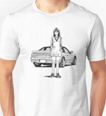 Initial D Sileighty Nissan 180sx/240sx Unisex T-Shirt
