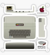 Apple II Skin for the Official case [Get the MEDIUM size] Sticker