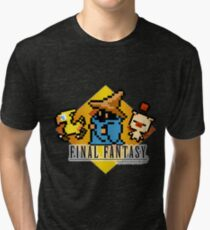 Final Fantasy bits Tri-blend T-Shirt