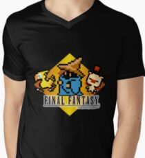 Final Fantasy bits Mens V-Neck T-Shirt