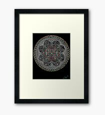 Fractal Enlightenment Framed Print