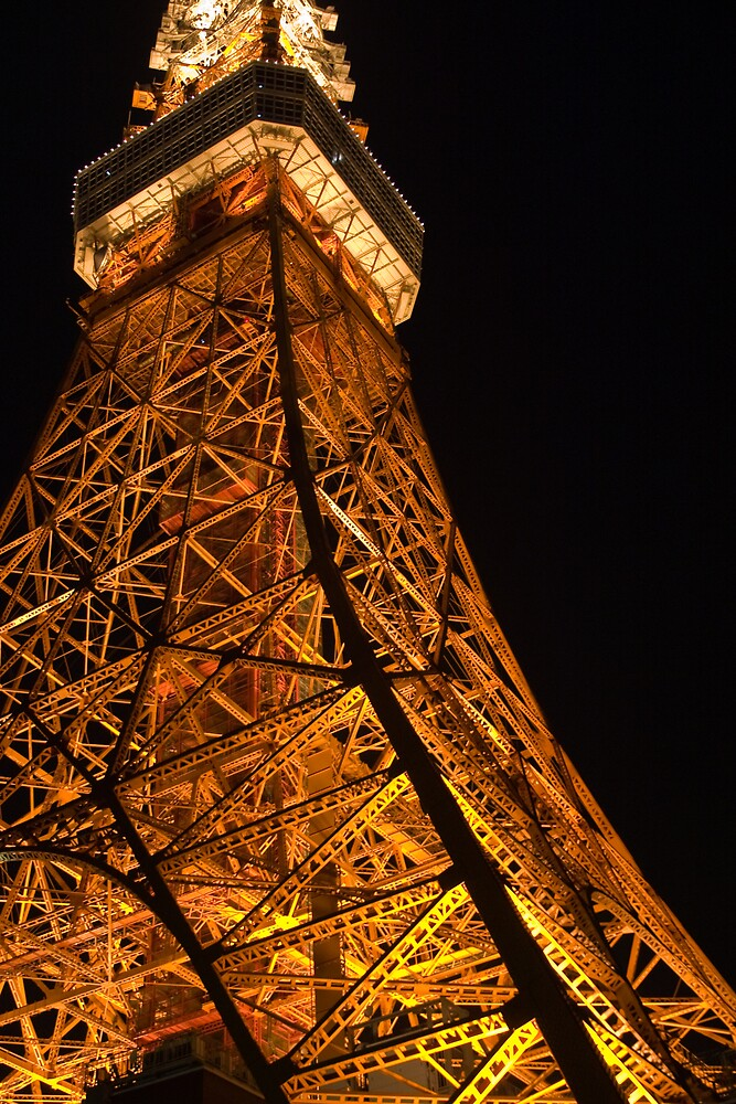 Tokyo Tower by shadow2