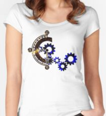 Chrono Gears Logo Women's Fitted Scoop T-Shirt