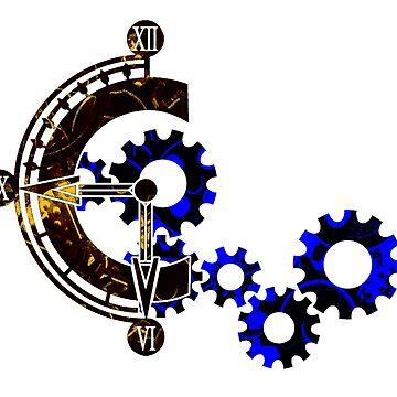 Chrono Gears Logo by bahamutdawn