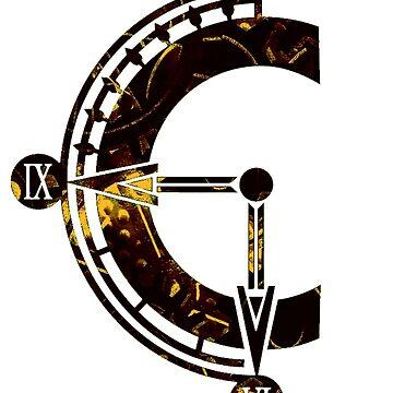 Chrono Trigger logo by bahamutdawn
