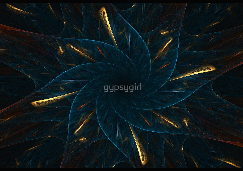 Blue and Gold by gypsygirl