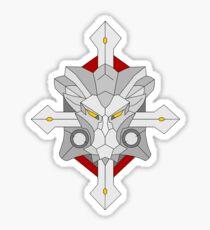 Overwatch Reinhardt Shield 'Lionhardt' Sticker
