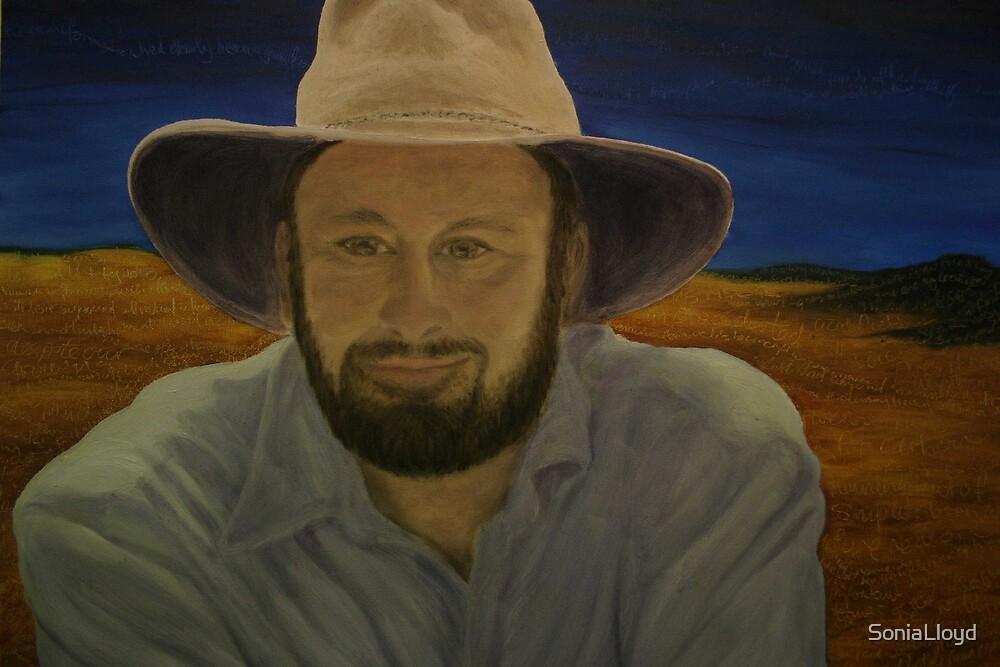Tim Flannery Portrait by SoniaLloyd