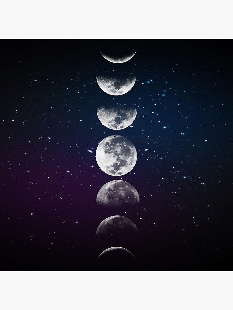 Phases of the Moon by LadyViolet