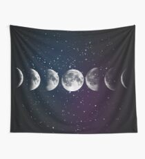 Phases of the Moon Wall Tapestry