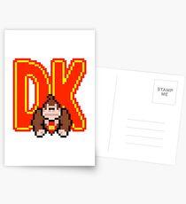DK Donkey Kong Postcards