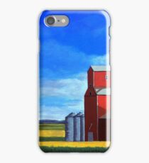 Standing Tall - rural countryside farm landscape iPhone Case/Skin