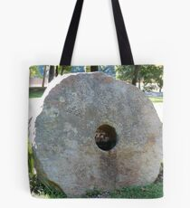 Old mill stone Tote Bag