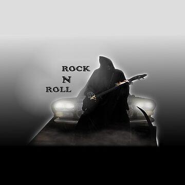 Evil Rock'n'Roll God by Kuvzmin