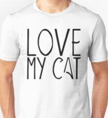Love my cat | Animals Unisex T-Shirt