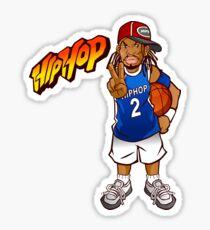 Hip Hop Basketball Sticker