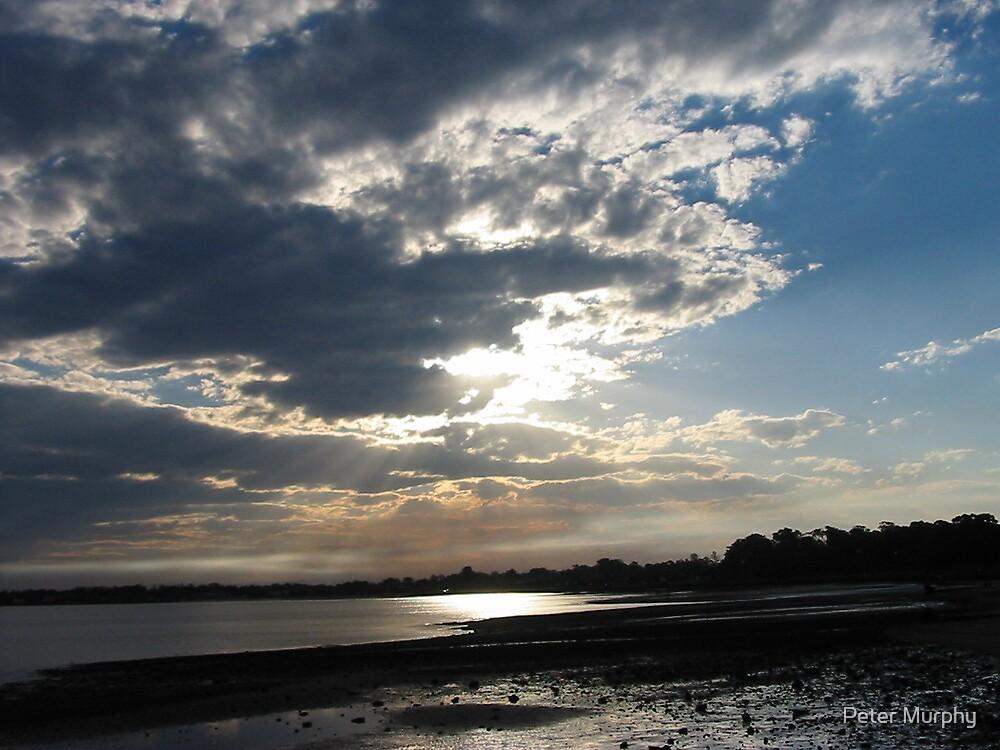 Cloudy Evening over Clontarf by Peter Murphy