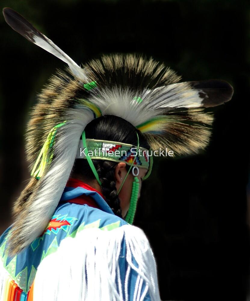 Native American Boy by Kathleen Struckle