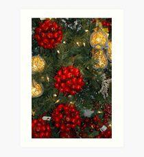 Holiday Decorations Art Print