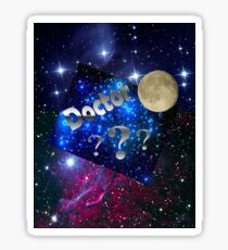 Space Aliens Doctor  Sticker