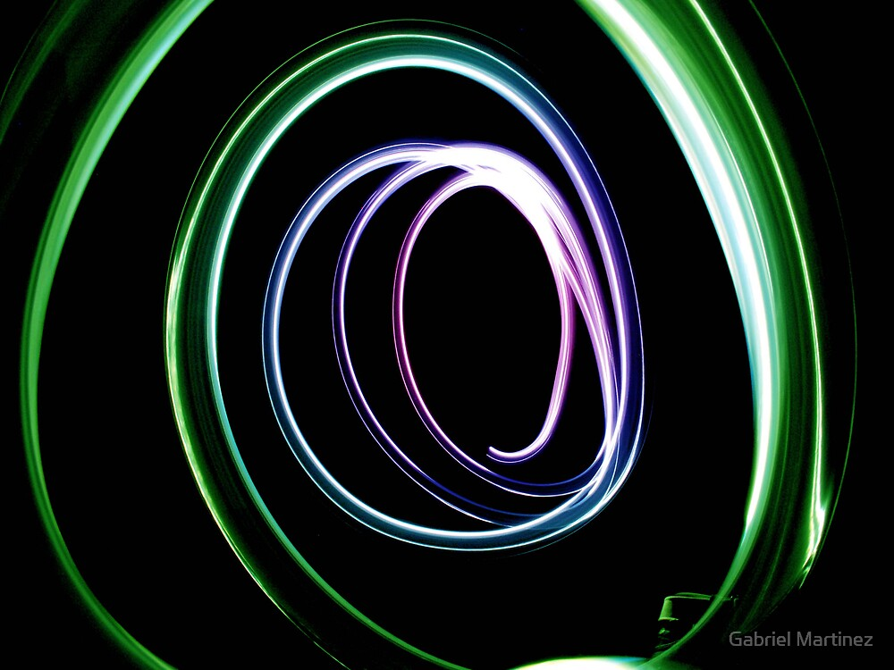Light Paint by Gabriel Martinez